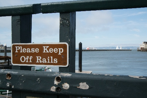 Please Keep off Rails