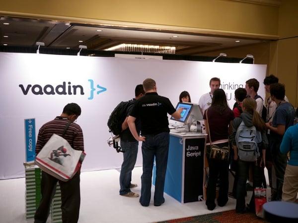 Booth of Vaadin