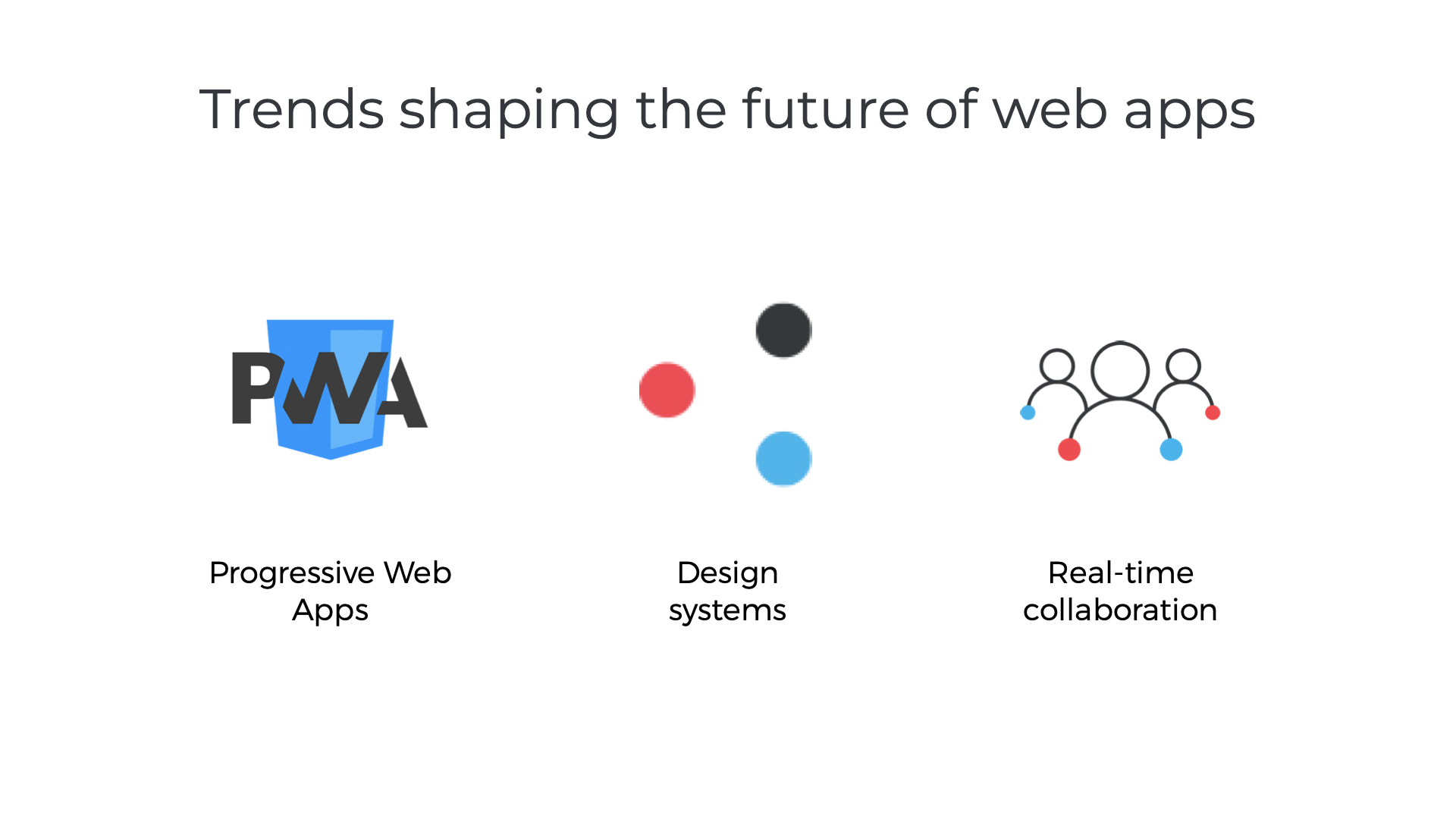 Trends shaping the future of web apps