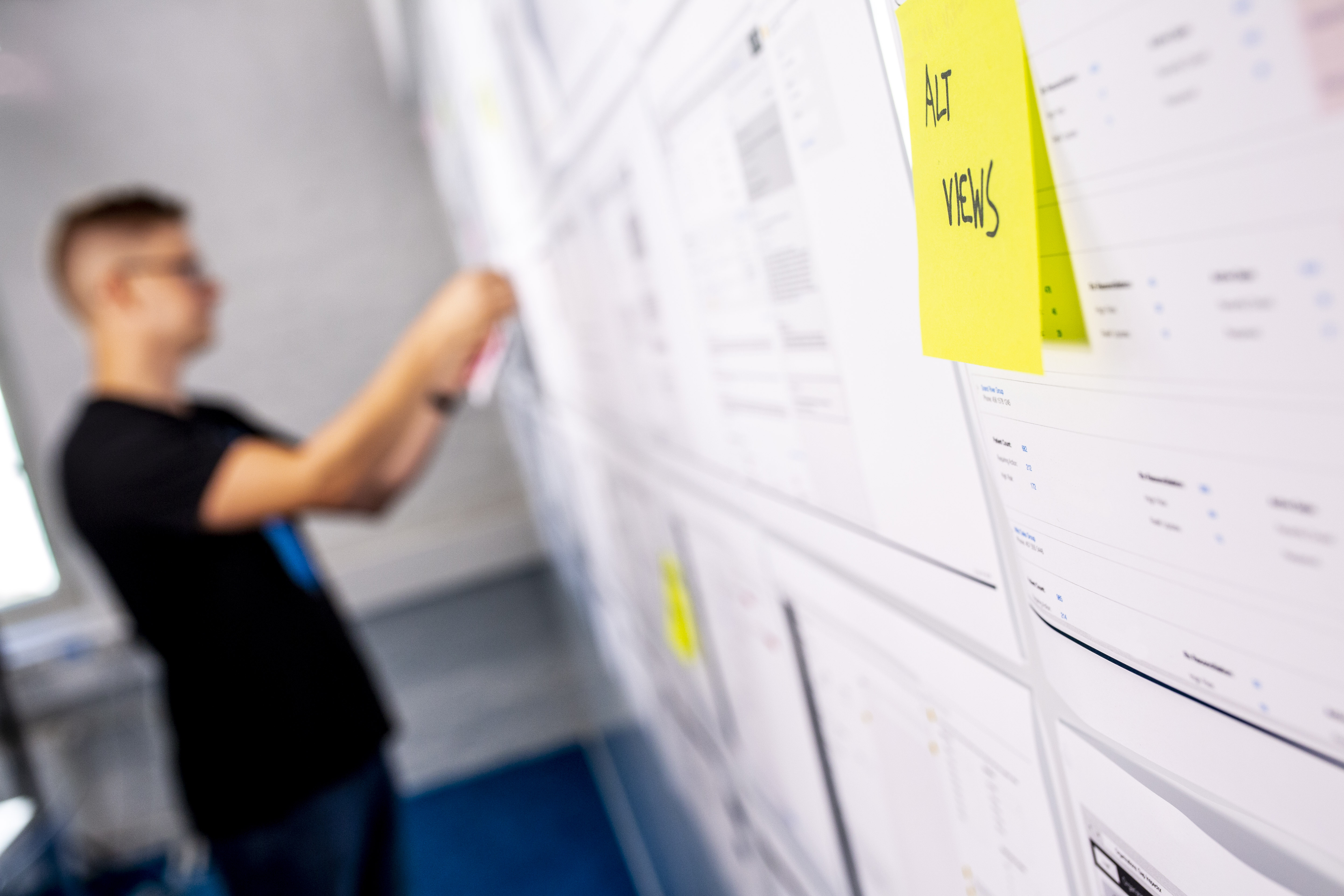 Planning the design of an app