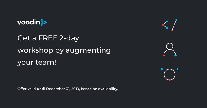Free Workshop with All Vaadin Team Augmentation Services