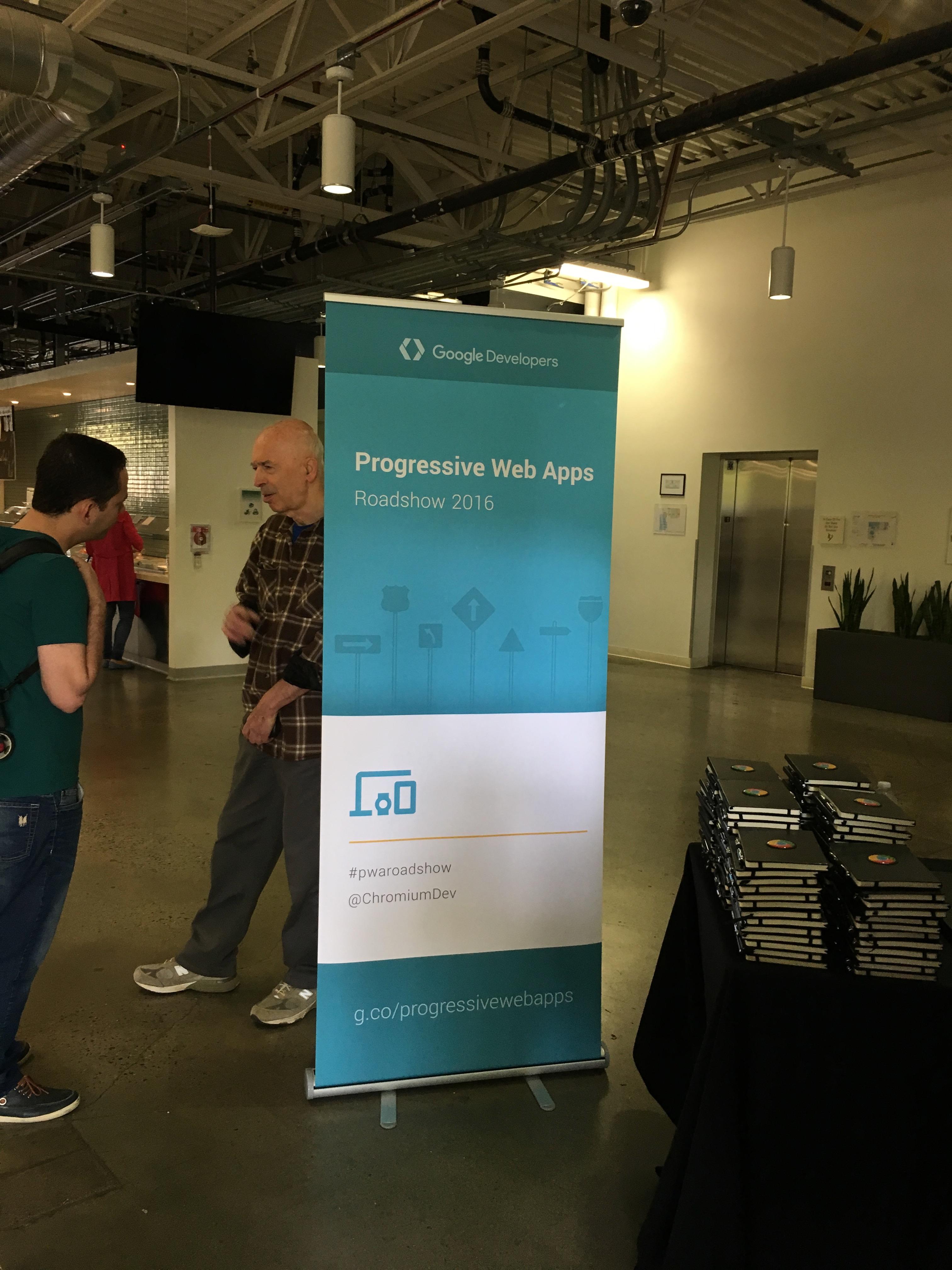 Progressive Web Apps Roadshow