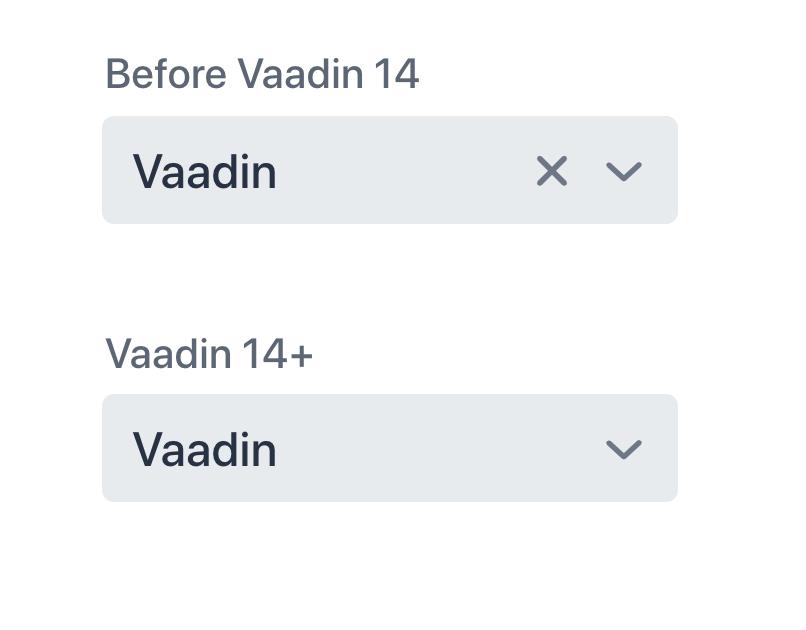 Hide clear button on input fields in Vaadin 14