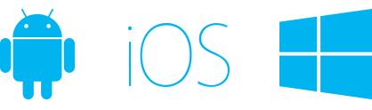 Android, iOS, Windows Phone