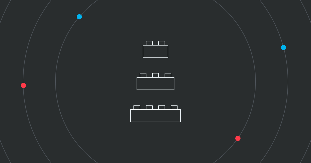 Design system for scalable web app building