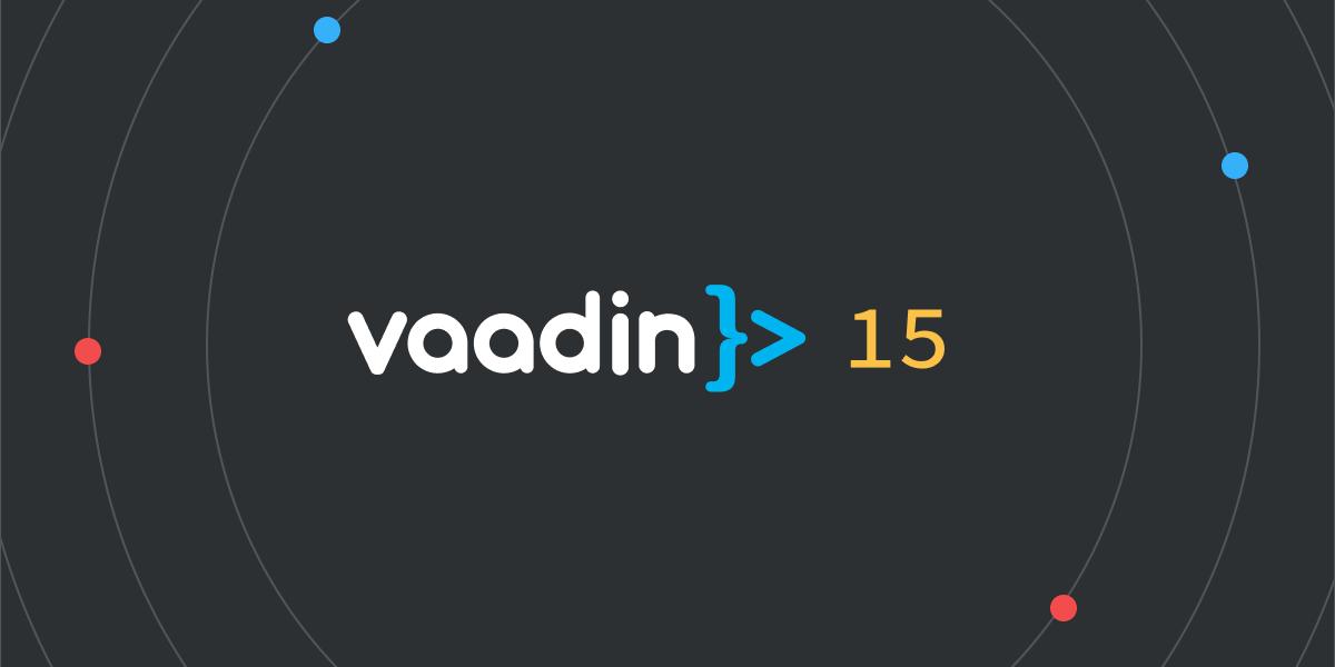 Vaadin 15 TypeScript support for Vaadin apps