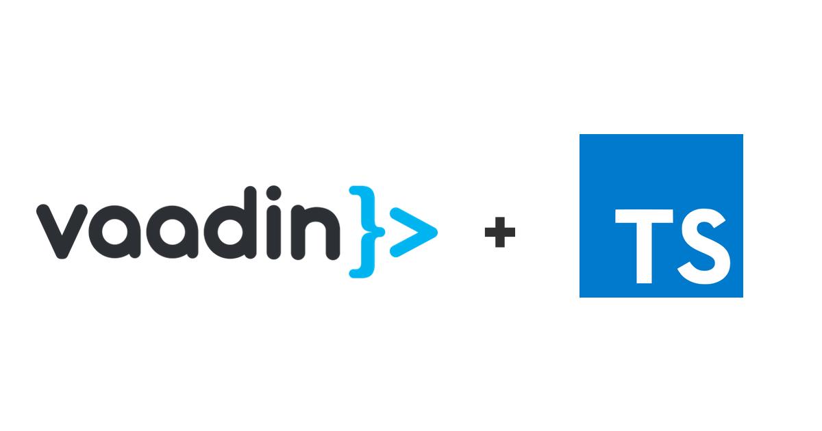 vaadin-typescript